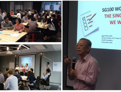 The Singapore We Want Planning Workshop with Mr Lim Siong Guan