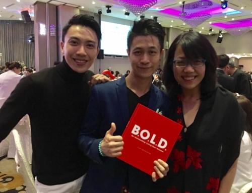 B.O.L.D Book Revealed @ SG100 Dinner